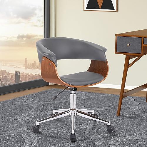 Armen Living Bellevue Office Chair, Gray