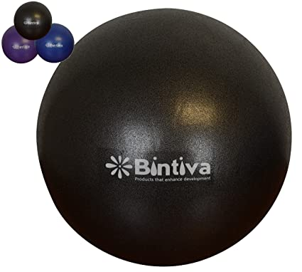 c7bb85982cb0b bintiva Mini Pilates Ball 7-9 Inch Stability Ball Used for Exercise Yoga  Pilates and Therapy