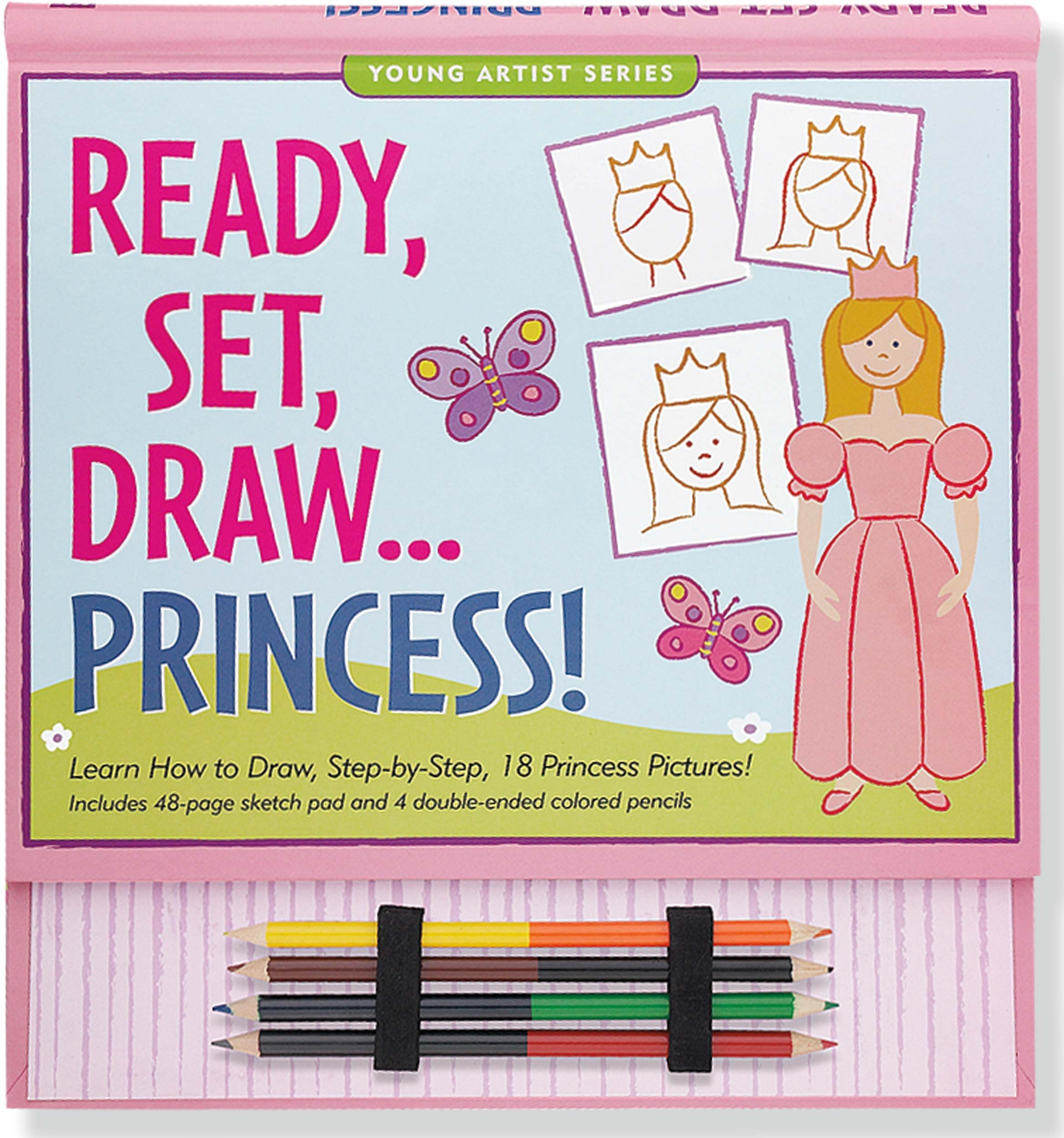 Download Ready, Set, Draw Princess! (How to Draw Activity Book) (Young Artist Series) pdf