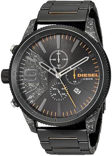 Diesel Reloj Cronógrafo para Hombre de Cuarzo con Correa en Acero Inoxidable DZ4469: Amazon.es: Relojes