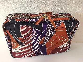 2b4de36fd9f8 Amazon.com   Sonia Kashuk Weekender Makeup Cosmetic Travel Tote Bag -  Geometric Artwork Print   Beauty