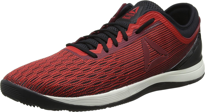 Reebok R Crossfit Nano 8.0, Zapatillas para Hombre, Multicolor (Primal Red/Urban Maroon/Chalk/Black Cm9169), 47 EU: Amazon.es: Zapatos y complementos