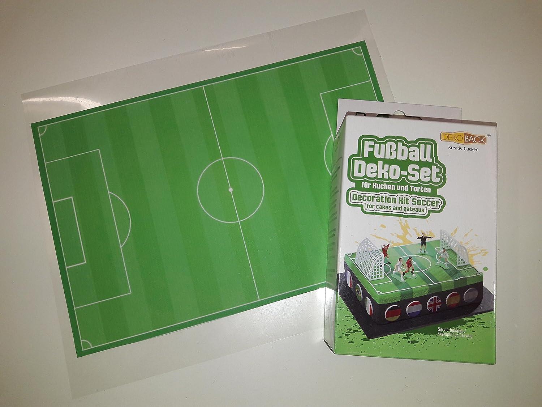 Dekoback Tortenaufleger Fussball Tortenverzierung Fussball