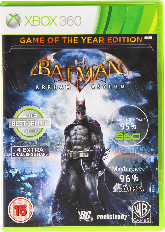 Batman Arkham Asylum Game Of The Year Edition: Amazon.es: Electrónica