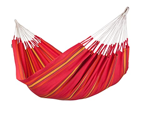 LA SIESTA Currambera Cherry – Cotton Double Classic Hammock