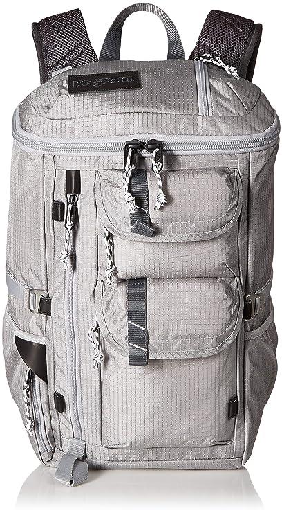 4fd3f284c1 Amazon.com  JanSport Watchtower Laptop Backpack - Grey Mini Ripstop ...