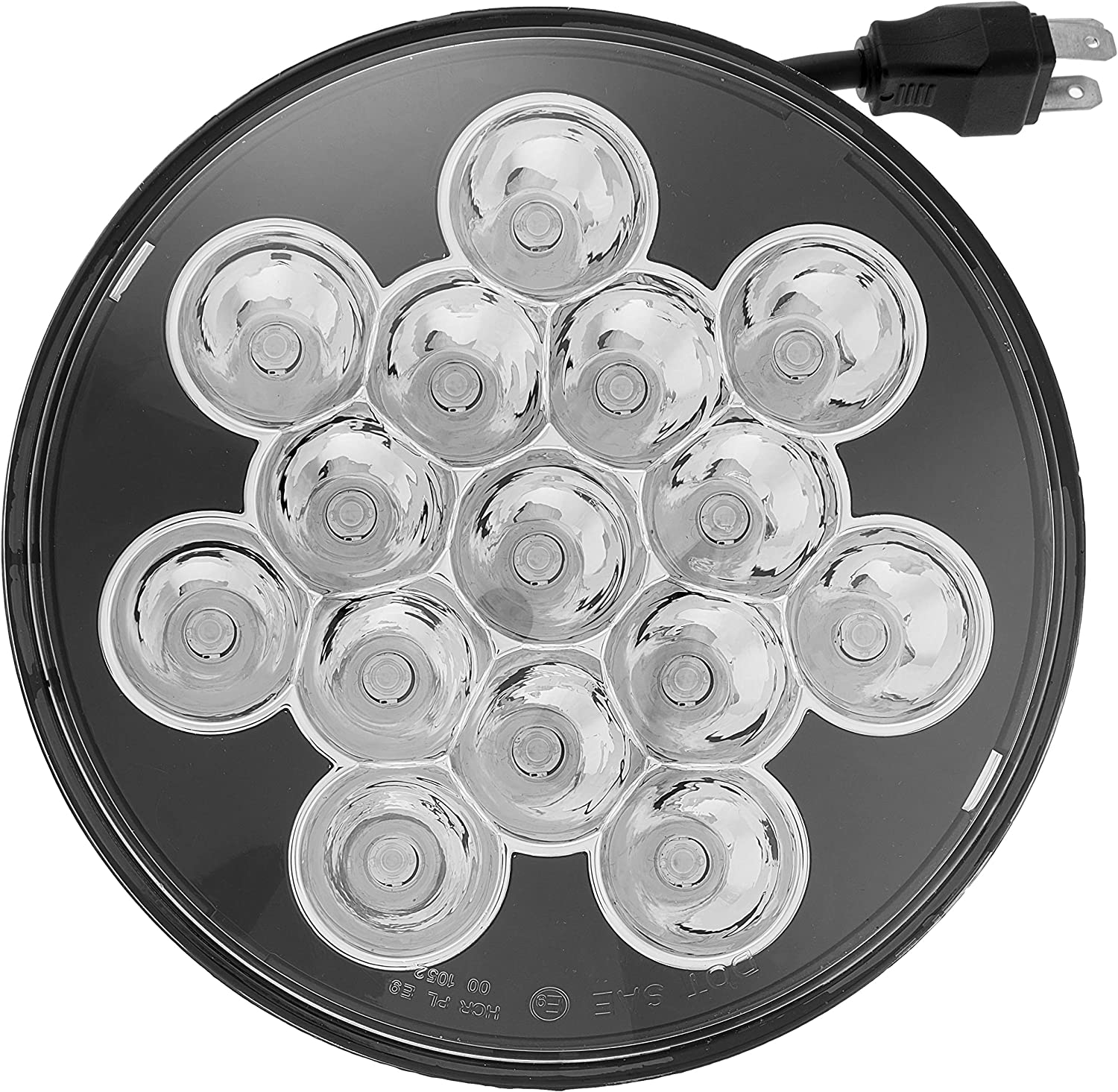 """7"""" inch LED round led headlights Fits Jeep wrangler Car and Truck 2pcs high/low beam round headlamp H6014 H6015 H6017 H6024"""