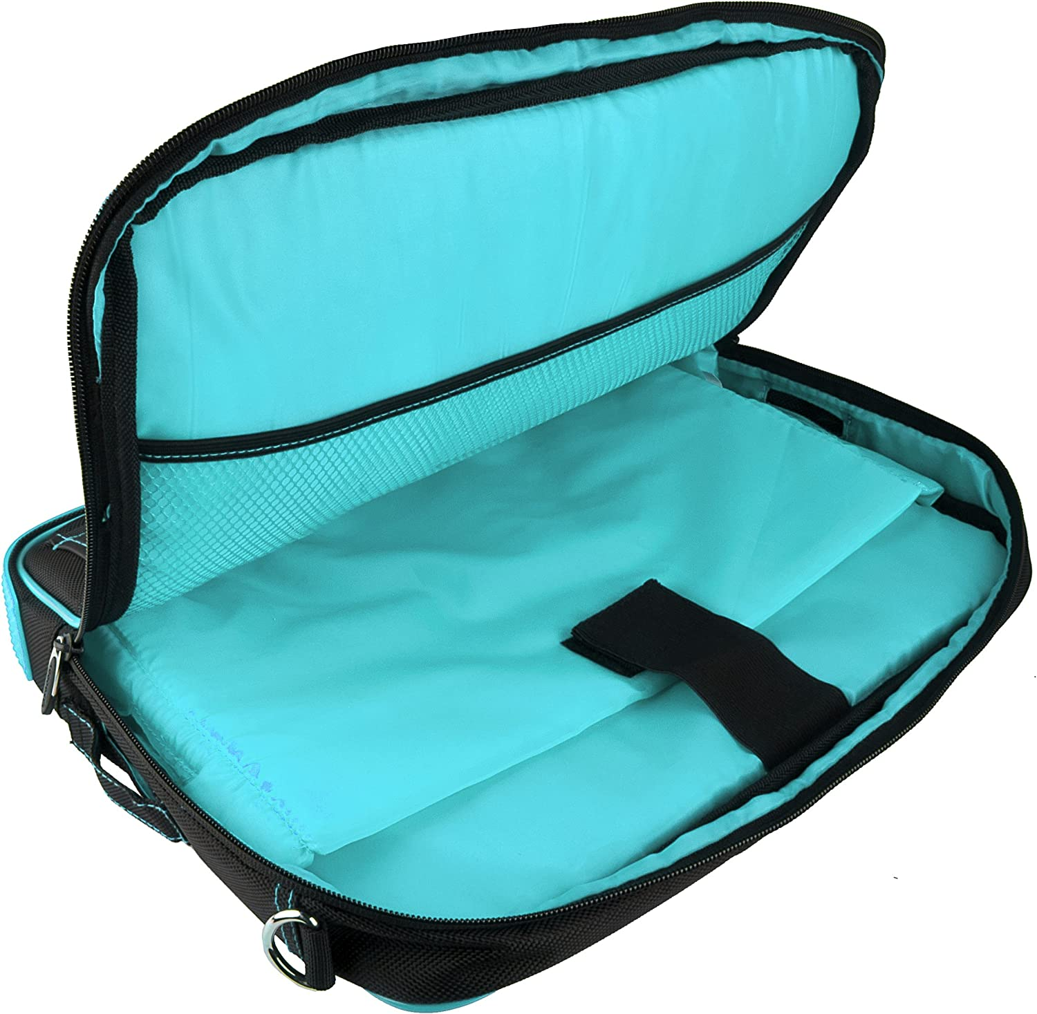 for Microsoft Surface RT 2 Pro 2 10 inch Tablets and Blue Handsfree Headphones Aqua Blue VG Pindar Edition Messenger Bag Carrying Case