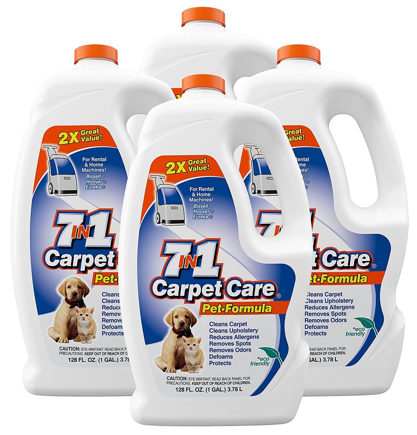 7in1 Carpet Care Pet Formula Carpet Cleaning Solution (1 Pack) Kent Investment Corp