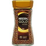 Nescafé Gold Natural - Café Soluble - Pack de 3 x 100 g