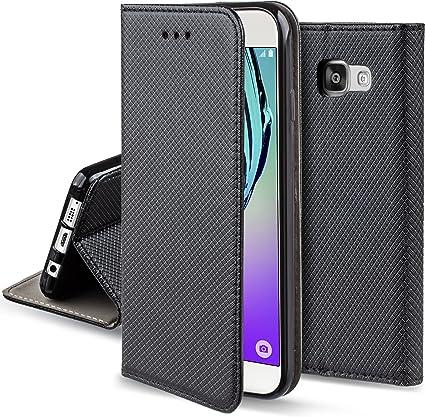 Moozy Funda para Samsung A5 2016, Negra: Amazon.es: Electrónica