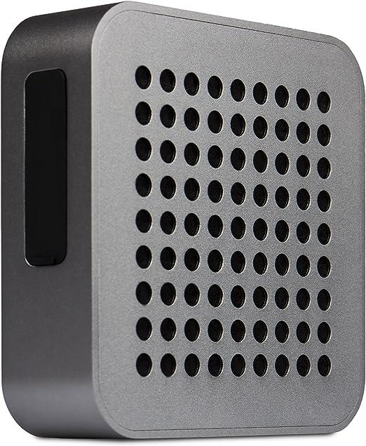 Blaupunkt BT 50 Altavoz portátil estéreo 5W Gris - Altavoces portátiles (5 W, 4 Ω, Inalámbrico y alámbrico, 2.1+EDR, A2DP,AVRCP,HFP,HSP, Altavoz portátil estéreo)
