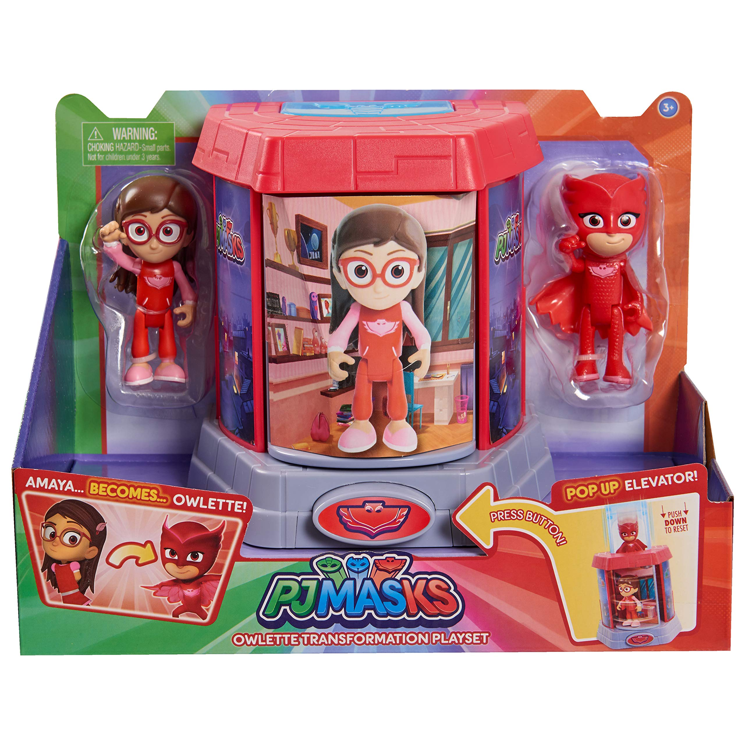 Pj Masks Transforming Figures Playset Buy Online In Israel At Desertcart