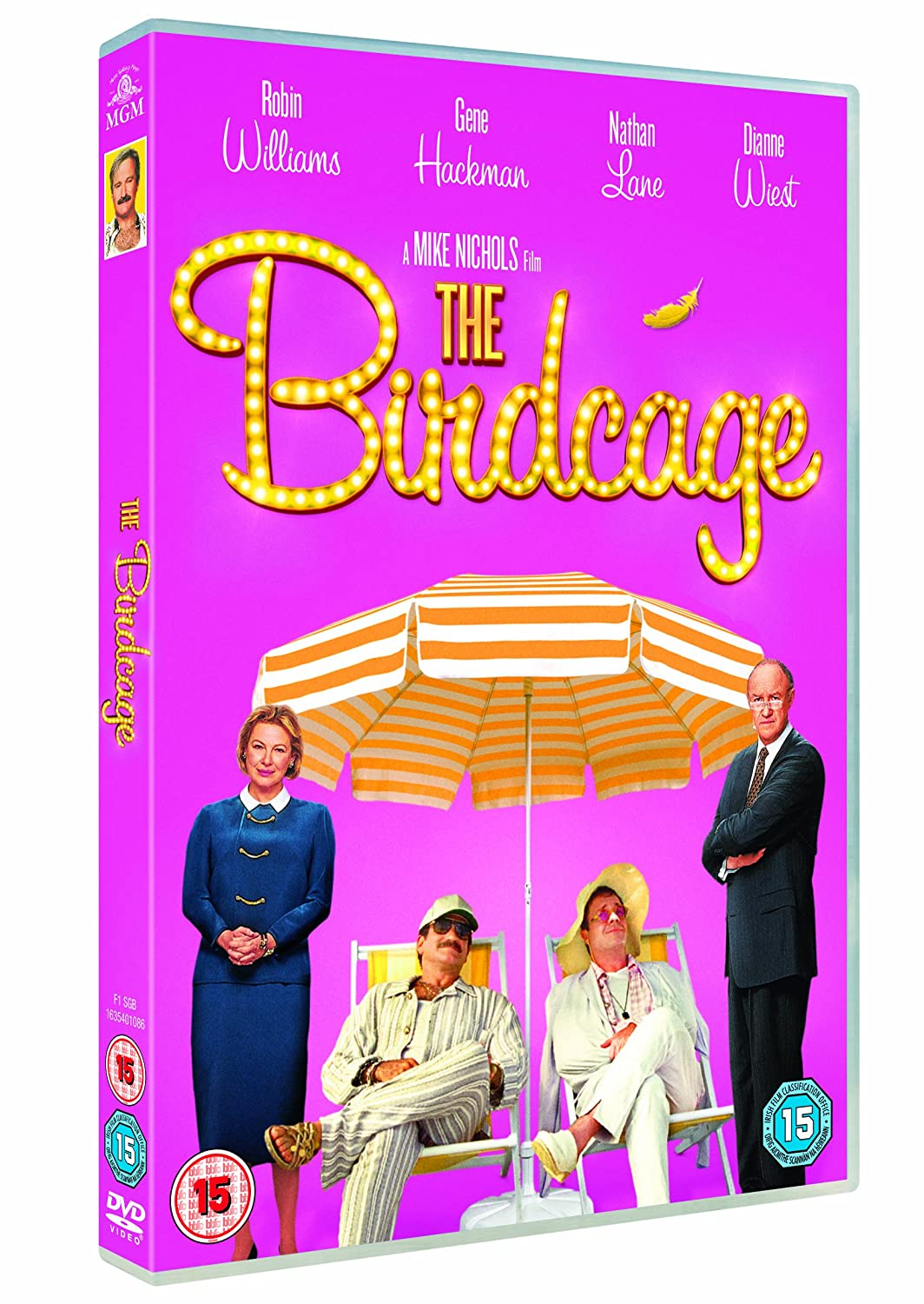 The Birdcage [Edizione: Regno Unito] [Italia] [DVD]: Amazon.es ...