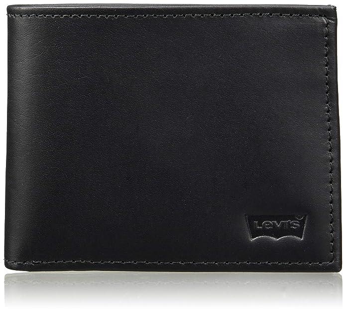 Amazon.com: Levis - Cartera de billetera con diseño de bateo ...