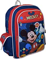 Say Cheese - Mickey Large Backpack - 16in Mickey Mouse Backpack by Disney