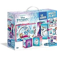 Clementoni Puzzle 12 Multiplay Cubes Frozen