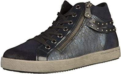 low priced f14da 88b63 Remonte Sneaker in Übergrößen Blau D5273-15 große Damenschuhe