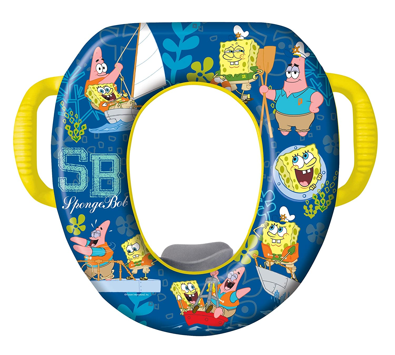 Amazon.com : Nickelodeon SpongeBob SquarePants Potty Seat - Padded ...