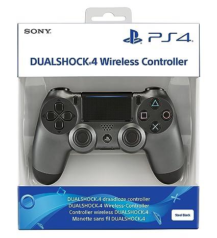 Manette DualShock 4 V2 pour PS4 - Steel Black