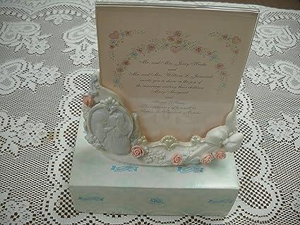 Amazon Precious Moments Wedding Invitation Photo Holder 135720