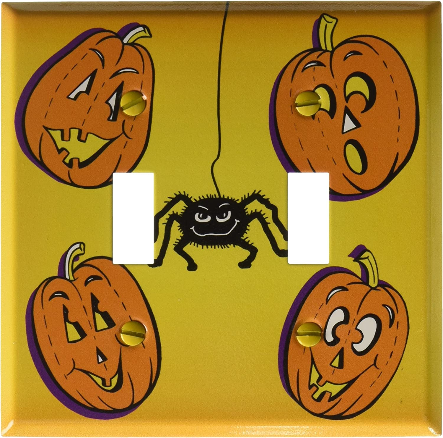 Boo Switch Plate Art Plates Halloween Double Toggle