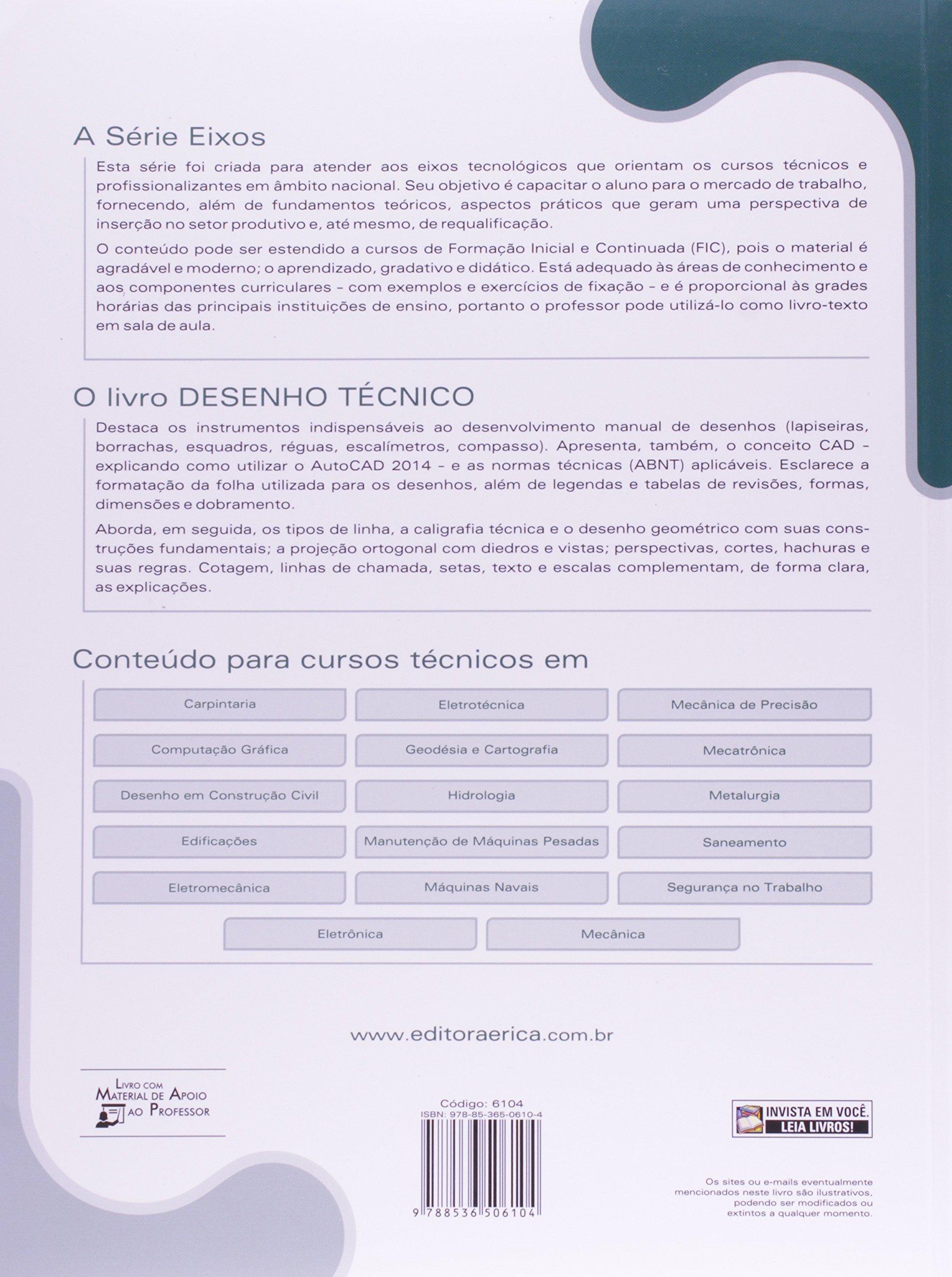 Desenho T Cnico S Rie Eixo Controle E Processos Industriais