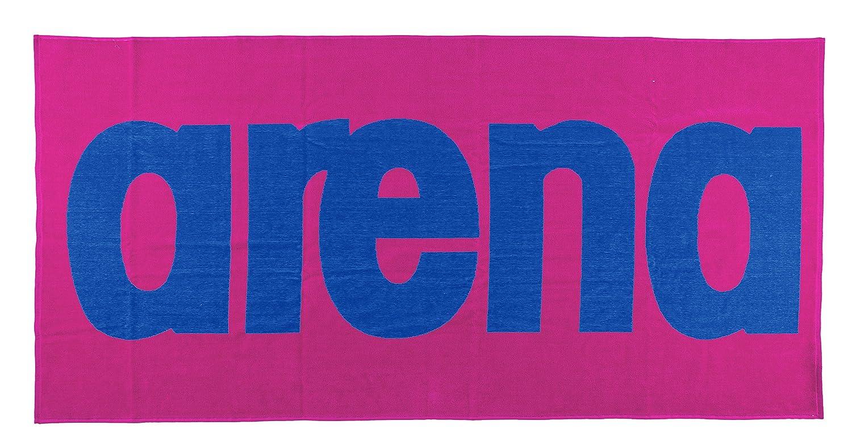 Arena Telo da Bagno Logo, Unisex, Badehandtuch Logo, Fresia Rose/Royal 51281