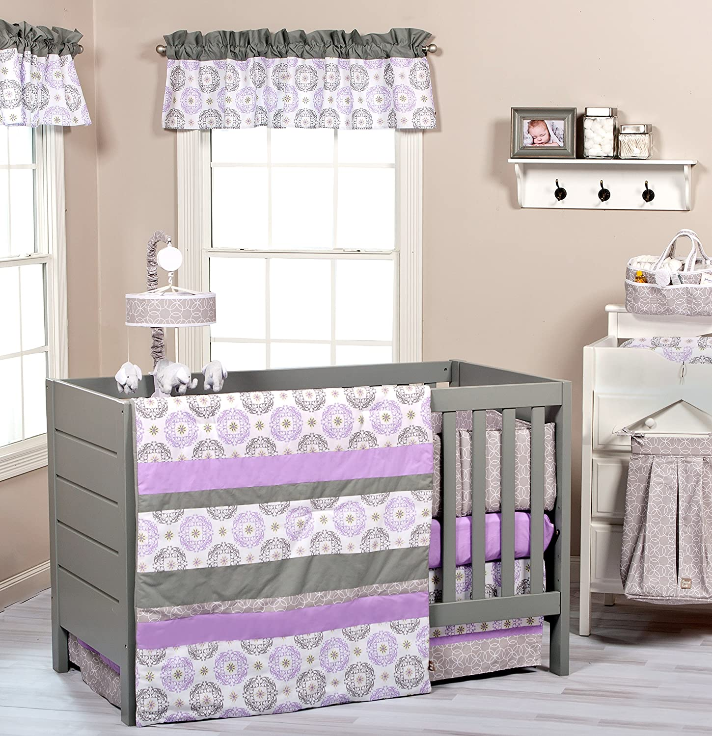 Trend Lab 3 Piece Florence Crib Bedding Set [並行輸入品]   B00R4PWXQ8