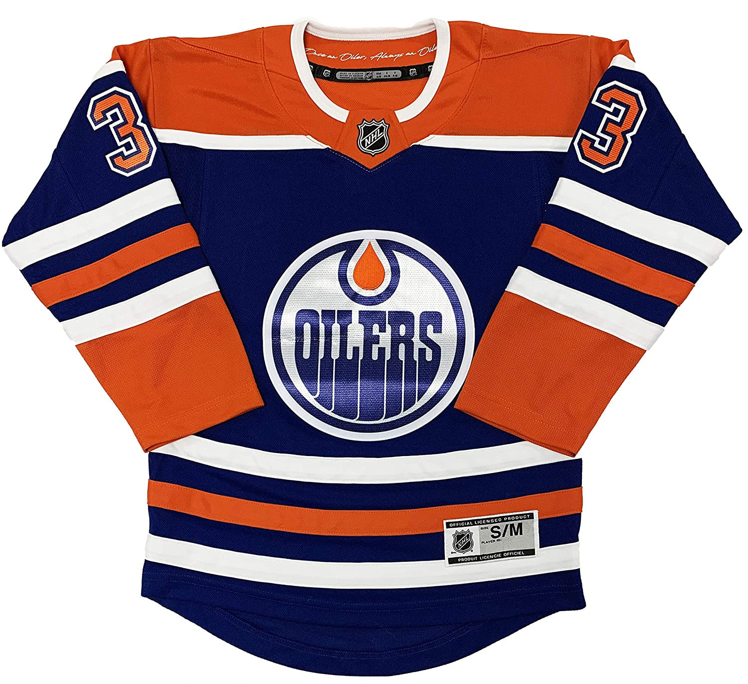 online retailer 74b05 ced47 Amazon.com: Cam Talbot Edmonton Oilers Blue Youth Alternate ...