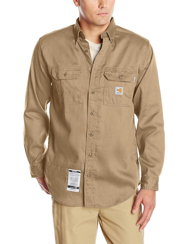 (カーハート) Carhartt メンズ ツイルシャツ 耐炎性 軽量 B005XZT81E 3L|カーキ カーキ 3L