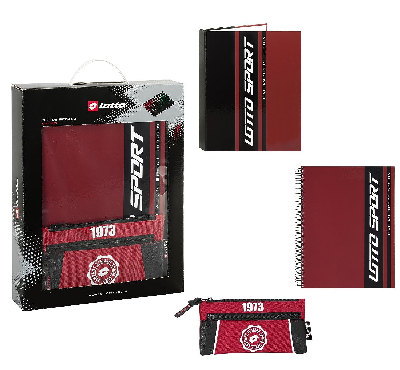 Lotto - Set de Regalo, 3 Piezas, diseño Sport, 28 x 35 cm (SAFTA 311522587): Amazon.es: Juguetes y juegos