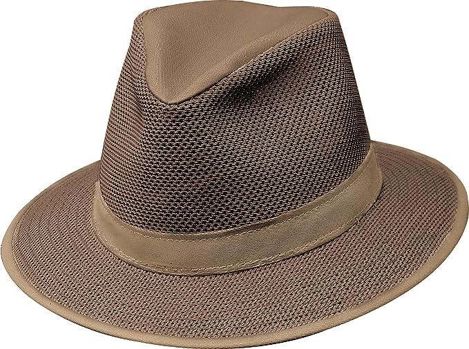 d6fc56ec6 Amazon.com : Henschel Safari Packable Breezer Hat : Clothing