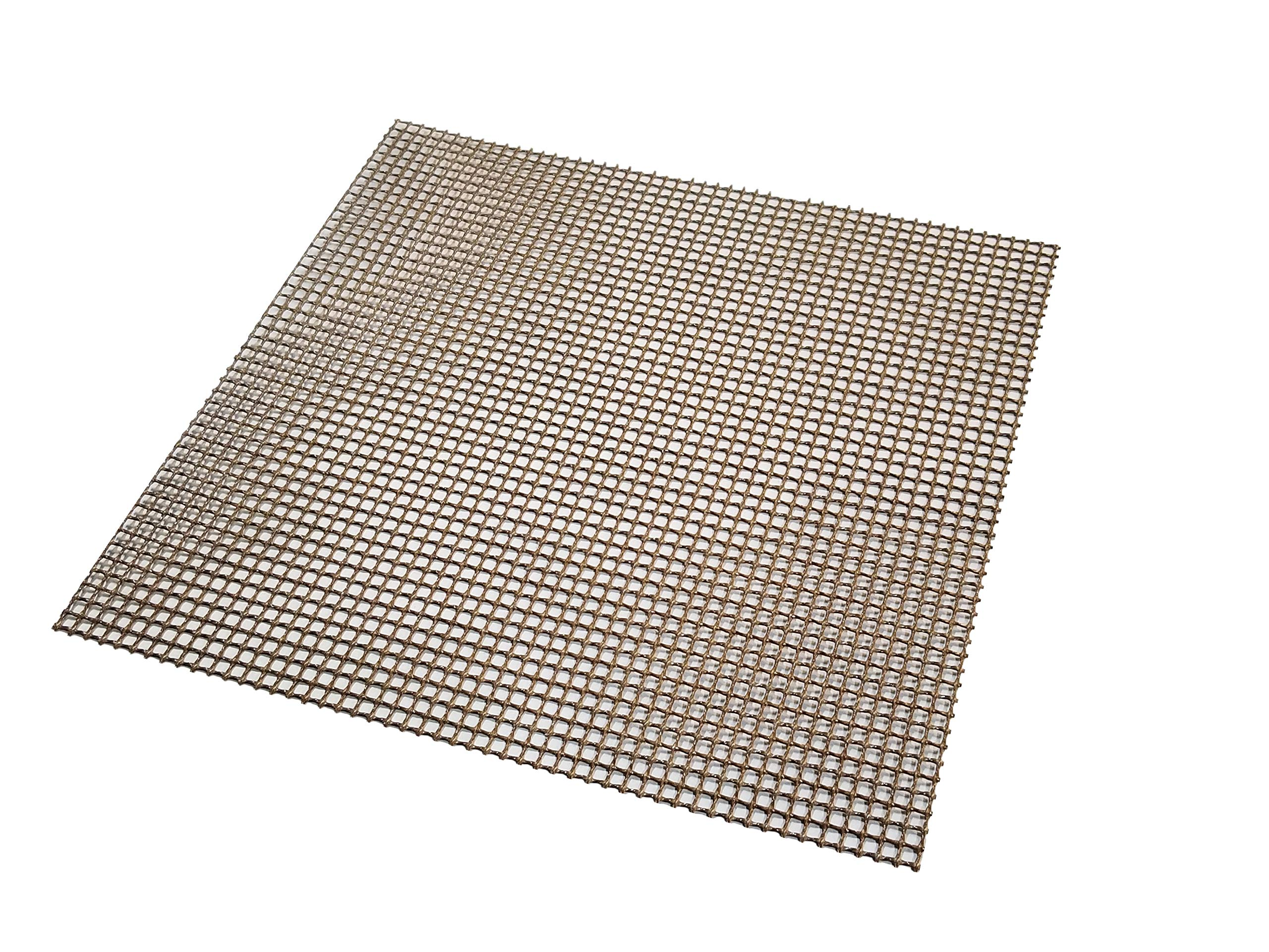 Essentialware (2 Pack) Non-Stick BBQ Grill and Smoker Mesh Toppers (20''x20'')