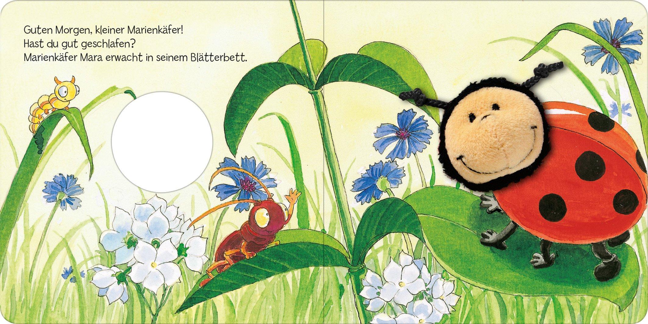 Mein Fingerpuppenbuch Marienkäfer Mara 9783845825816