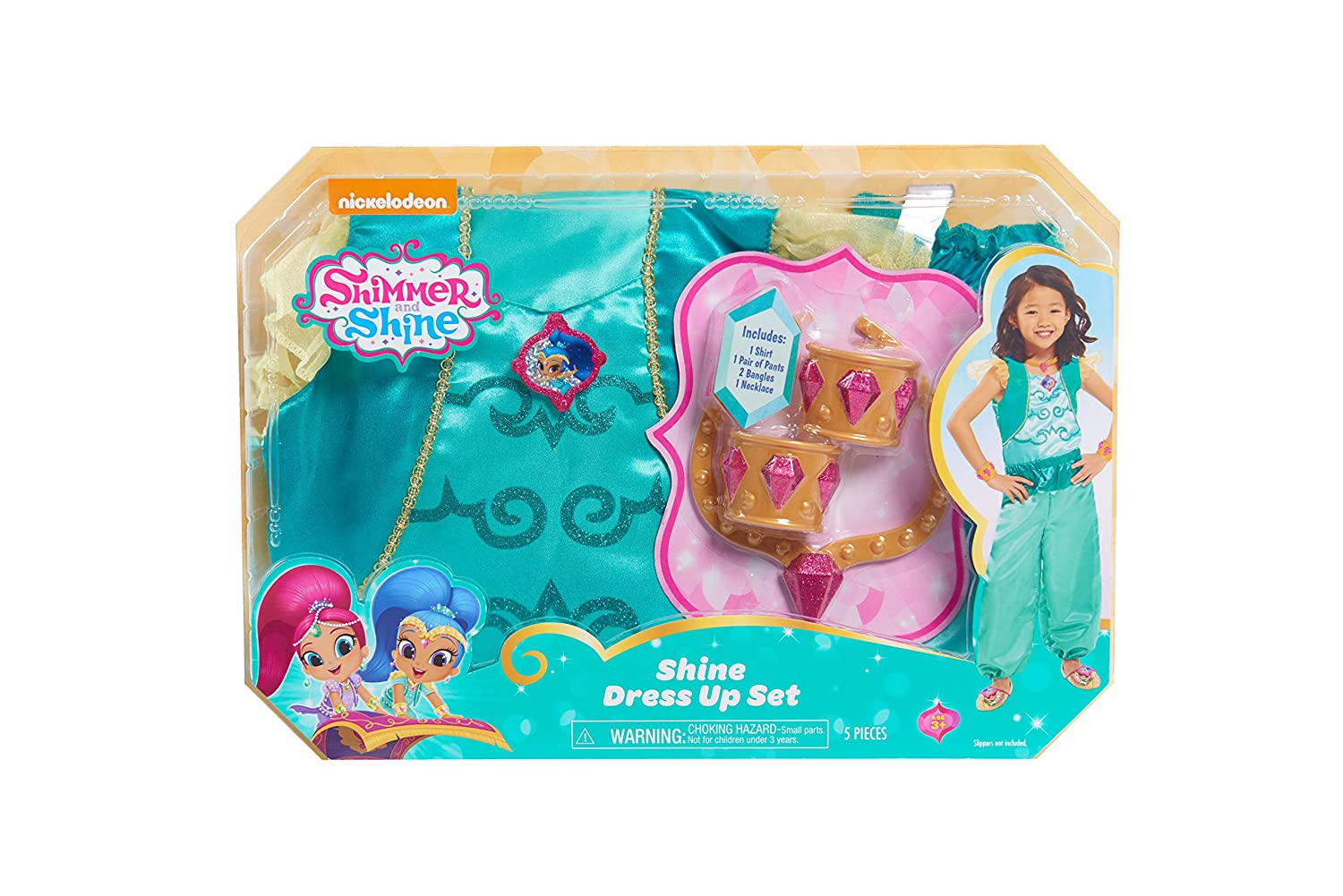 Amazon.com: Shimmer and Shine Just Play Dress Up Box Set: Toys & Games