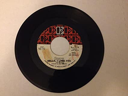 hello i love you / love street 45 rpm single & DOORS - hello i love you / love street 45 rpm single - Amazon.com Music