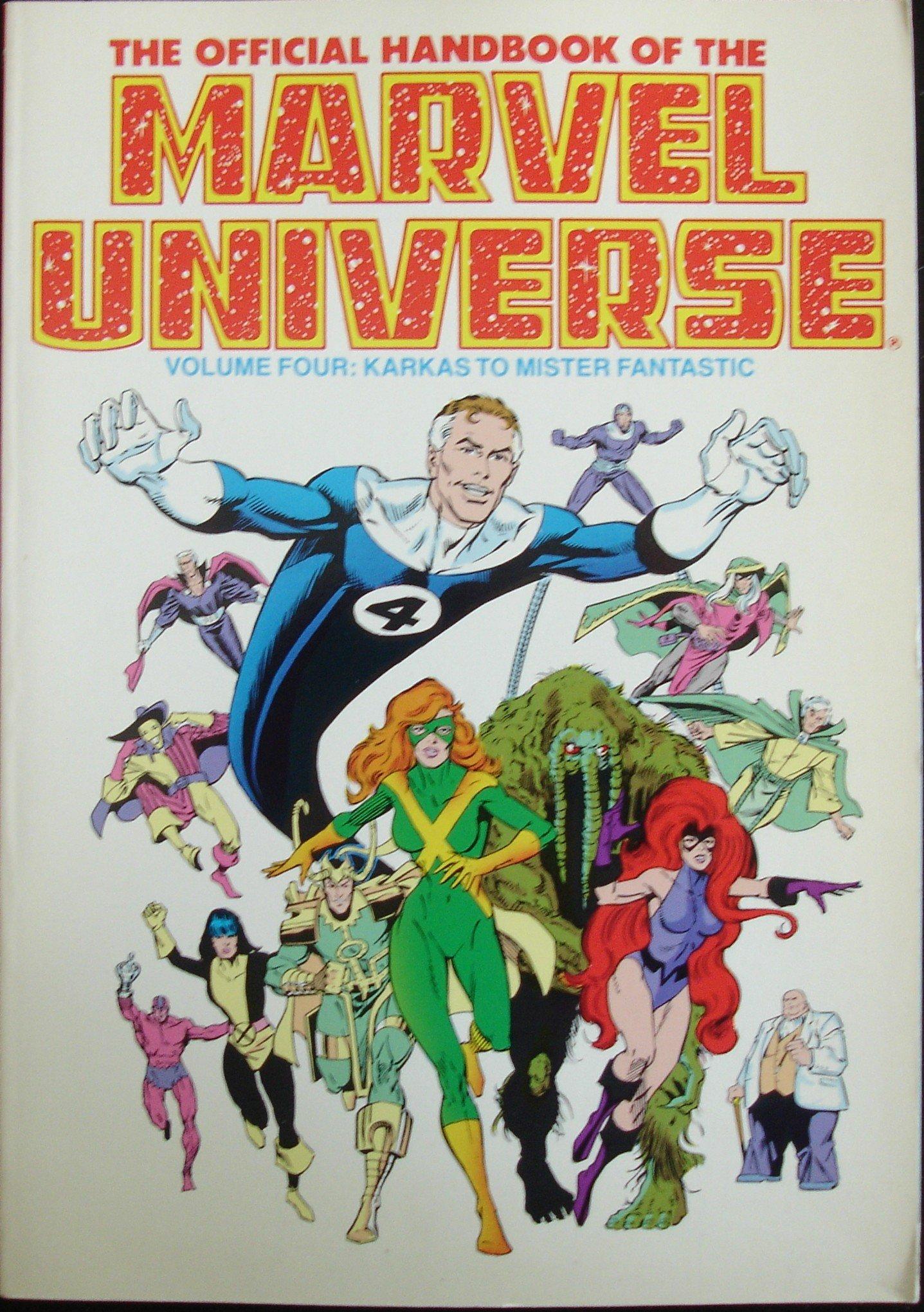 Amazon com: Official Handbook of the Marvel Universe (Vol  4