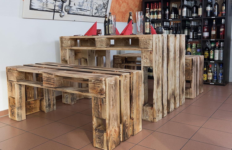 palé Muebles, muebles de jardín de Palets, asiento Grupo: Amazon ...
