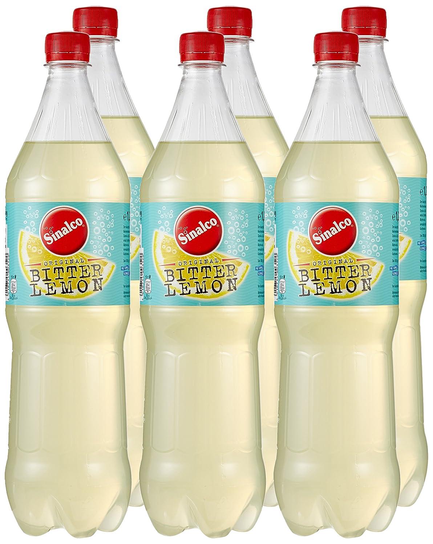 Sinalco Bitter Lemon, 6er Pack (6 x 1.25 l): Amazon.de: Lebensmittel ...