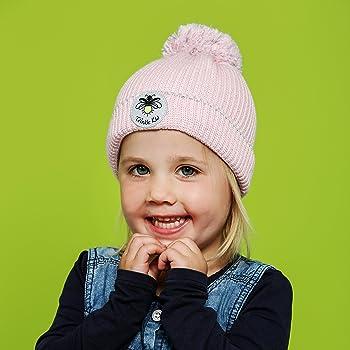 Twinkle Kid Kinder Reflektor M/ütze Leuchtbommel Back to School Pink Mist