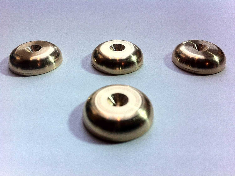 In ottone massiccio Spikes –  Set di quattro HiFi speaker Spike RAD Pads Solid Spikes LYSB00K89ZR7O-ELECTRNCS