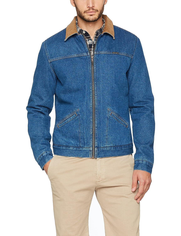 TALLA XL. Wrangler Hawkins Jacket Mid Chaqueta Vaquera para Hombre