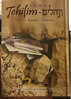 Tehilím Salmos De La Biblia Torá En Español, Hebreo Y Fonética - Grande