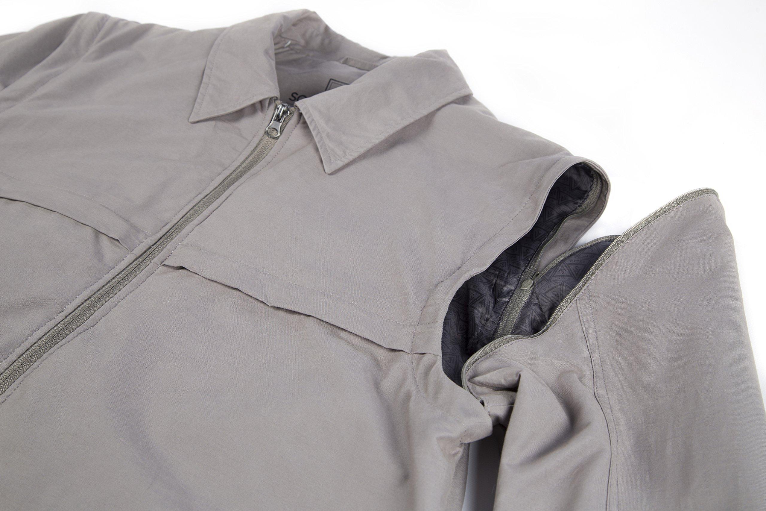 Men's SCOTTeVEST Jacket - 25 Pockets - Travel Clothing BLK M by SCOTTeVEST (Image #6)