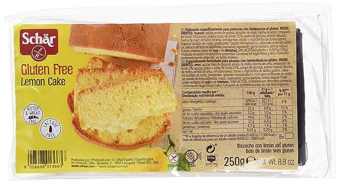 Dr. Schar Lemon Cake Plum Cake - 250 gr - [Pack de 2]