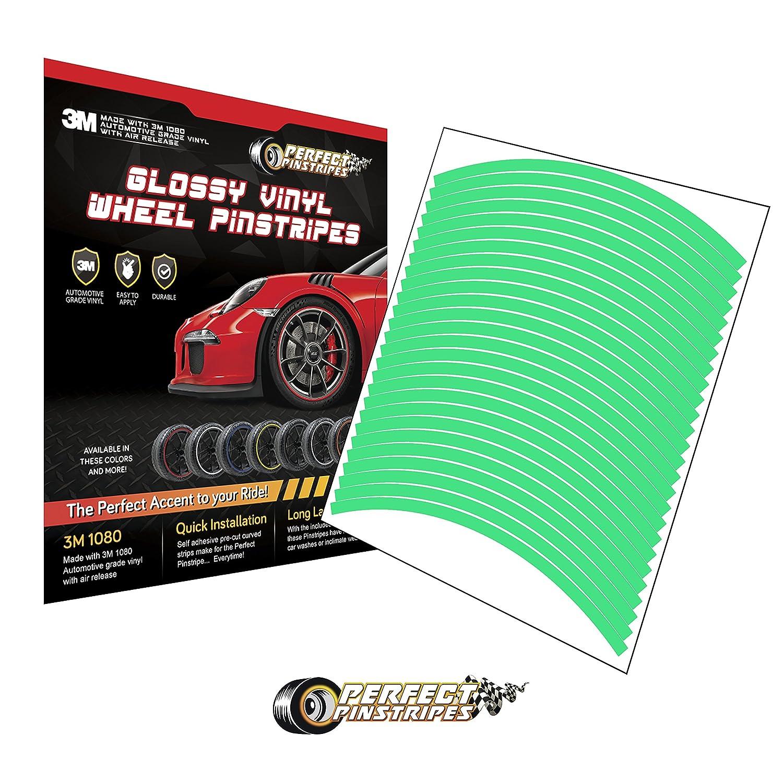 Curved Tape for A 19 Wheel, 8mm Stripe, Gloss Cosmic Blue G377 Pre-Cut 3M 1080 Vinyl Pinstriping Perfect Pinstripe Gloss Wheel Kit