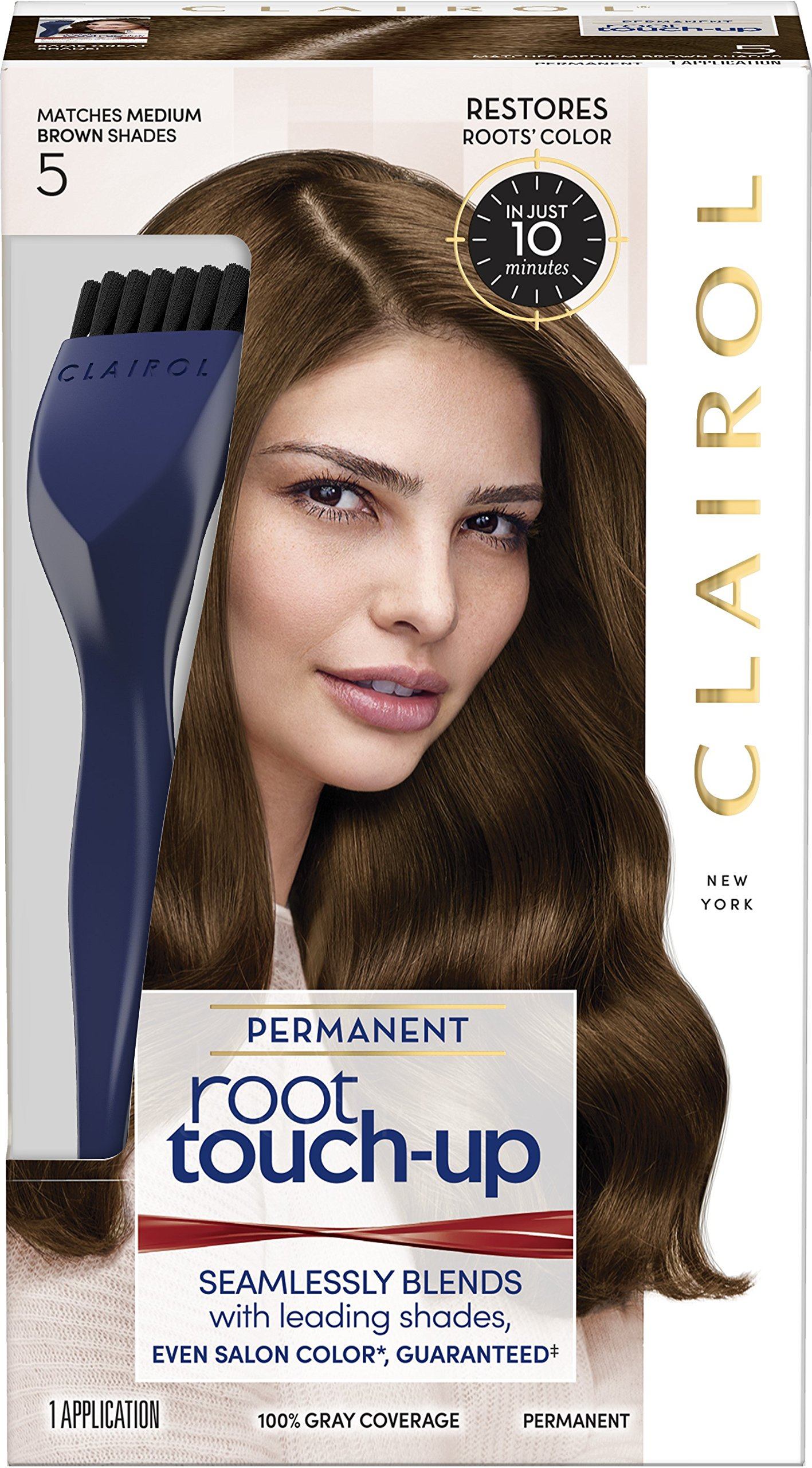 Nice 'n Easy Root Touch-Up, Medium Brown [5] 1 ea ( Pack of 6) by Procter&Gamble Health