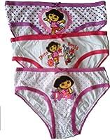 Dora Girls Pants Briefs - Pack of 3
