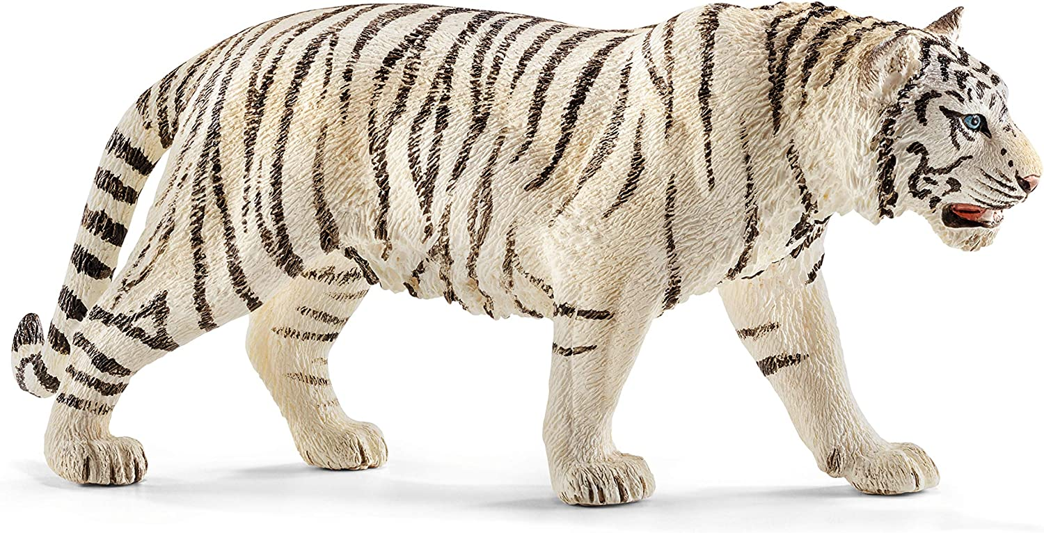 WHITE TIGER ANIMAL WILDLIFE TOY MODEL by COLLECTA 88790 *NEW WITH TAG*